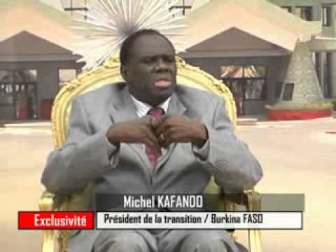 Entretien avec Michel KAFANDO du 20 Novembre 2014