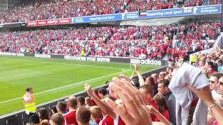 Nottingham Forest Mull of Kintyre Chant song