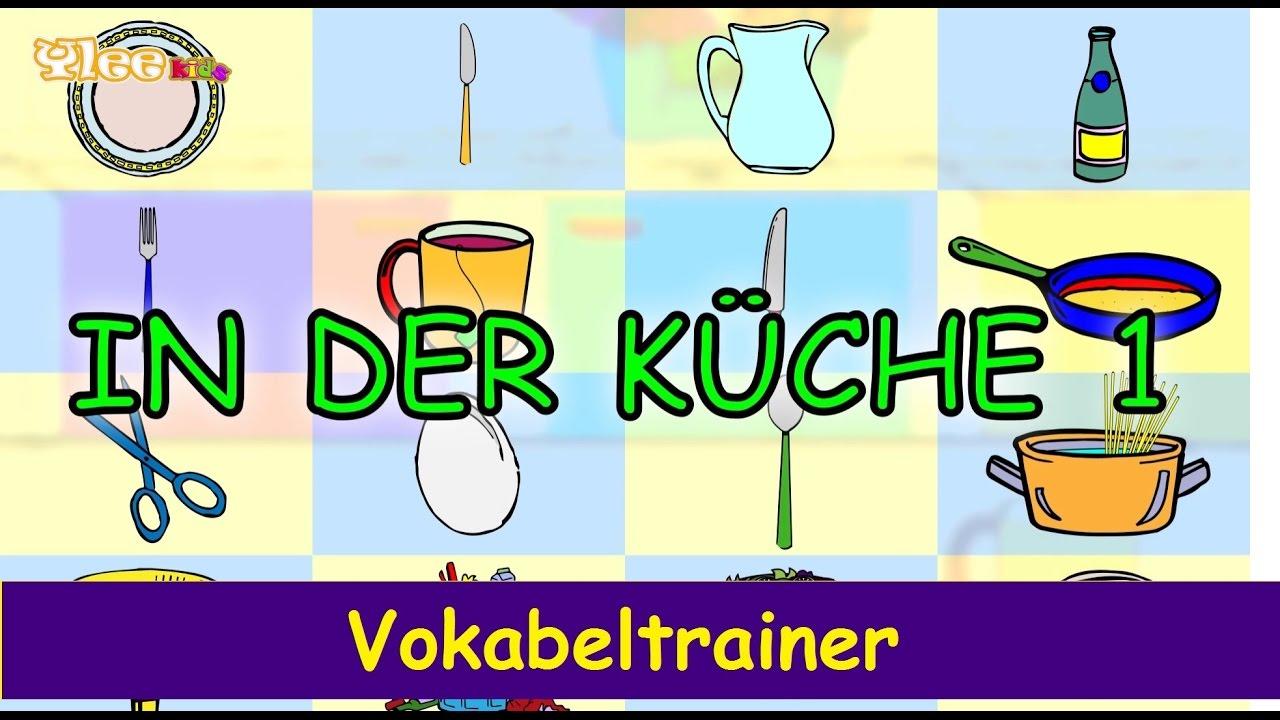 In der k che die ersten w rter wir lernen deutsch for Die kuche