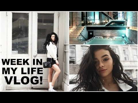Week in my life vlog | NYC spa, piercings, and hauls!