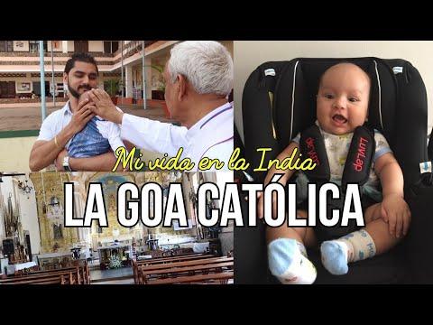 La Goa Católica+Un sacerdote bendice a Hrushank+ Nos quedamos sin luz. Mi vida en la India.