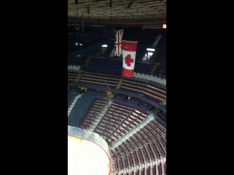 Tour of the Saddledome in Calgary 2010