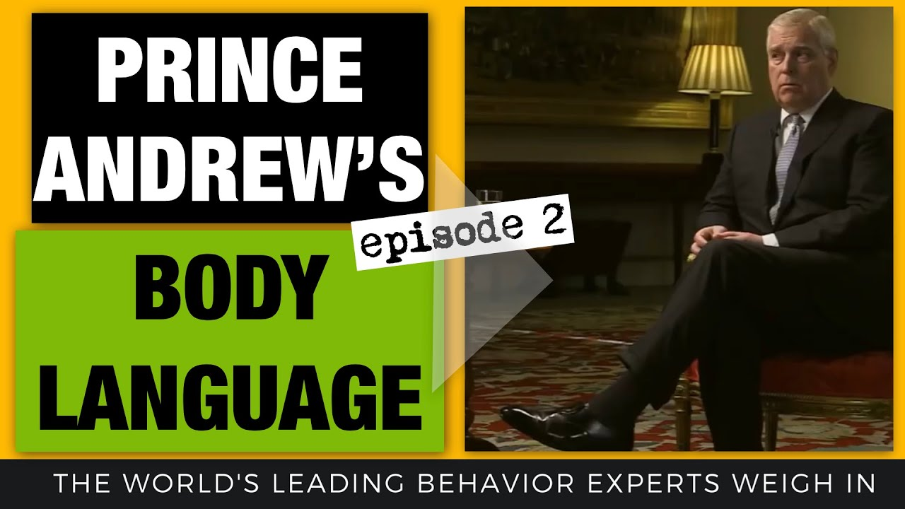 Prince Andrew & Epstein Interview Body Language Analyzed (2020) (Episode 2)