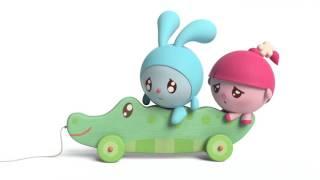 Малышарики - Играем вместе | Умные песенки для малышей