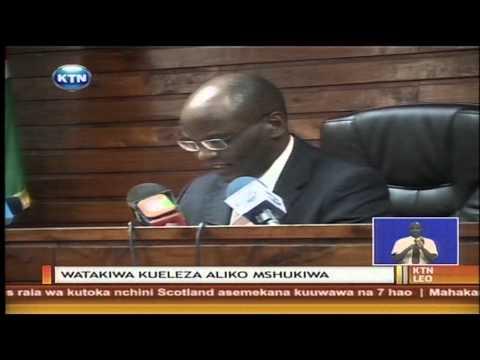 Polisi wawili kufikishwa mahamani kueleza jinsi mshukiwa wa ugaidi alitoroka