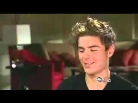 Zac Efron Talks About Vanessa Hudgens at Nightline Interview