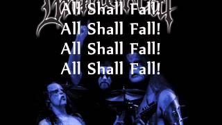 Immortal - All Shall Fall (Lyrics)