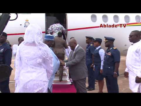 PRESIDENT NANA AKUFO ADDO AND WIFE TRAVEL TO ZAMBIA FOR A STATE VISIT