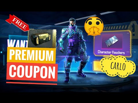 Free Premium And Classic Coupons And Free Calro Character Voucher (pubg Mobile)