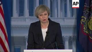UK's May Praises Trump's 'Renewal'
