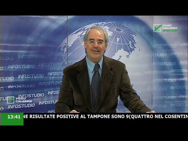 InfoStudio il telegiornale della Calabria notizie e approfondimenti - 9 Marzo 2020 ore 13.30