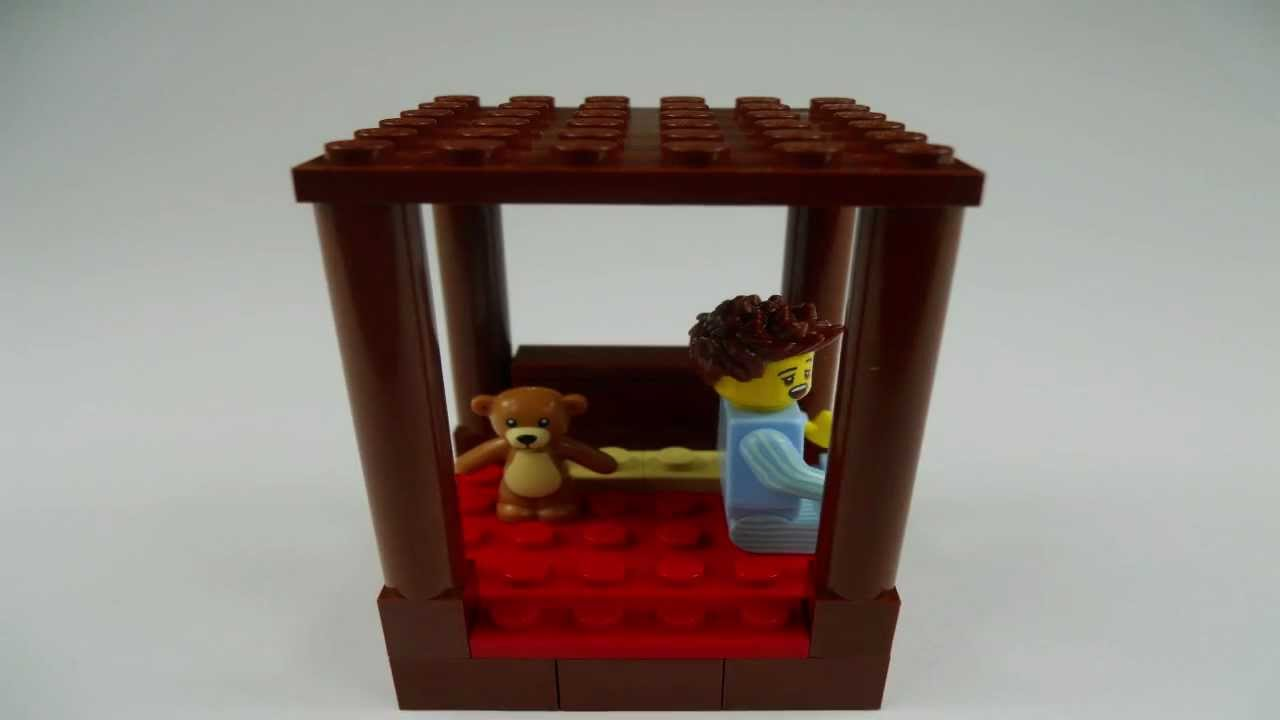 Stop Motion Lego Tutorial How To Build A Four Poster Bed
