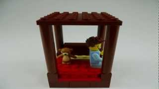 Stop Motion Lego Tutorial: How To Build A Four Poster Bed, Brick Film