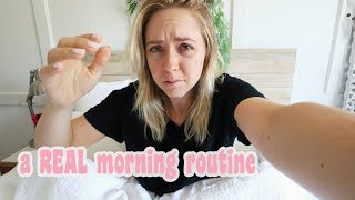 The REALEST Morning Routine You Have EVER Seen! | Ashley Nichole