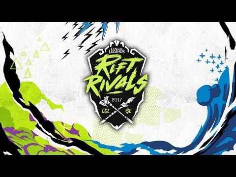 Rift Rivals 2017: LCL vs ŞL - 1. Gün