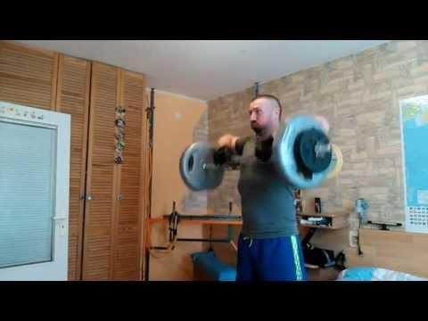 Cvičení doma záda + ramena 43 let , 103kg