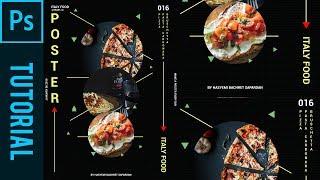 Italy/Italian Food Poster - Tutorial Photoshop CC 2019