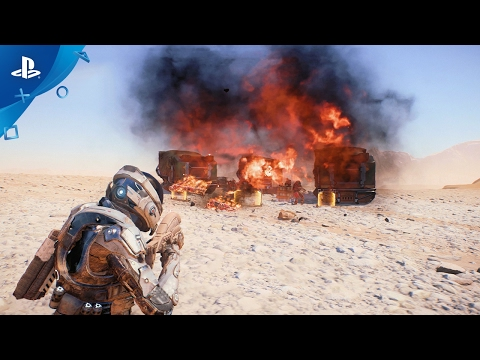 MASS EFFECT Andromeda - Combat: Official Gameplay Series - Part 1 | PS4