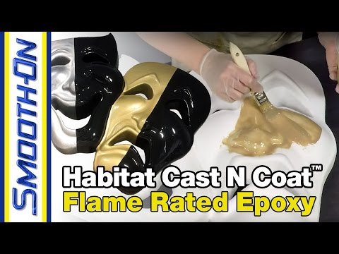 How To Coat Carved EPS Foam Using Habitat Cast N Coat™ Epoxy