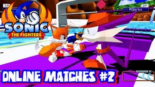 Sonic the Fighters - HD 1080p - Online Matches #2