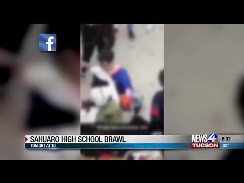 TUSD reacts to large brawl at Sahuaro High School