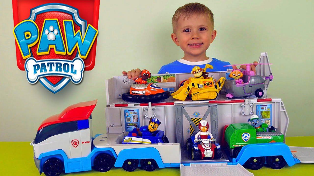 Щенячий патруль игрушки - Фигурки Paw Patrol - YouTube