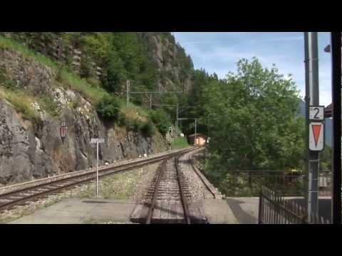 En cabine du Mont Blanc Express 1.2