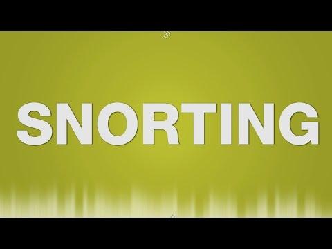 Snorting SOUND EFFECT - Schnäuzen Schnauben SOUNDS