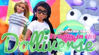 The Darbie Show:  Froggy in the Dolliverse | What its like to walk through your own crafts!
