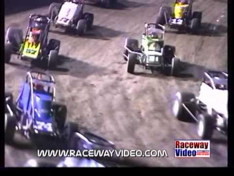 11/13/93 The inaugural SCRA sprint car race at Ventura Raceway