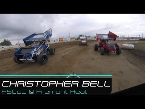 Christopher Bell | ASCoC @ Fremont Speedway Heat | 5.26.19