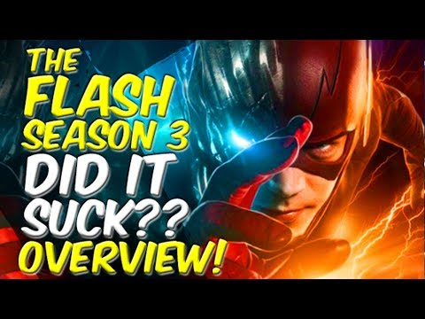 The Flash Season 3 DID IT SUCK?? OVERVIEW! + Contest!