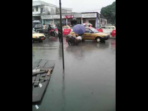 Voilà Douala deido coaf lorsqu'il pleut!!!