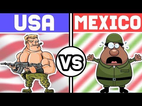 ¿Podría MÉXICO luchar contra ESTADOS UNIDOS?
