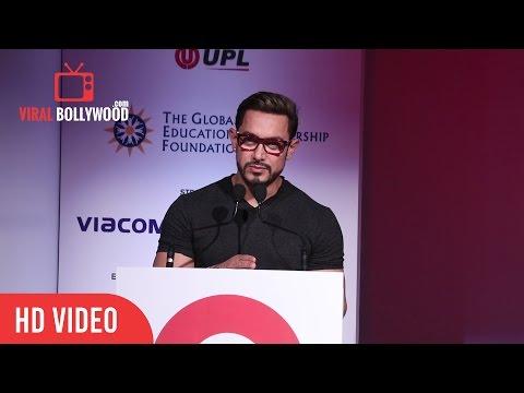 Aamir Khan Speech At Global Citizen India | Viralbollywood