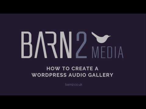 How to Create a WordPress Audio Gallery