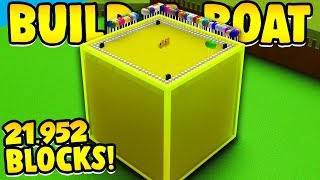 I Placed 1 block for EVERY subscriber In Build a Boat ( 20k sub special! ) thumbnail