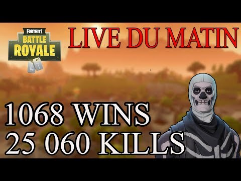[FR/PC/LIVE] FORTNITE EN SOLO  / Wins : 1068