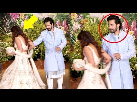 Varun Dhawan INSULTS Girlfriend Natasha Dalal At Sonam Kapoor Wedding Reception Mp3