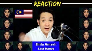 Shila Amzah Sings Last Dance (BIGBANG 빅뱅) | R3acti0n