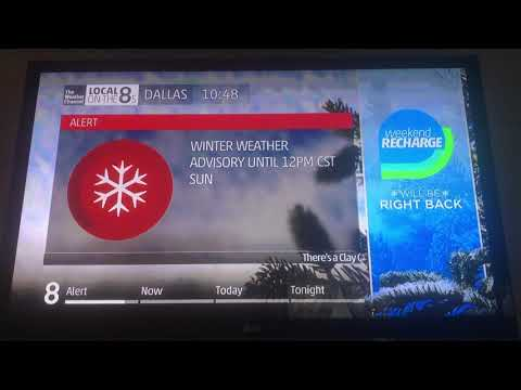 Ice And Cold Temperatures   TWC   Local On The 8s   12/31/2017