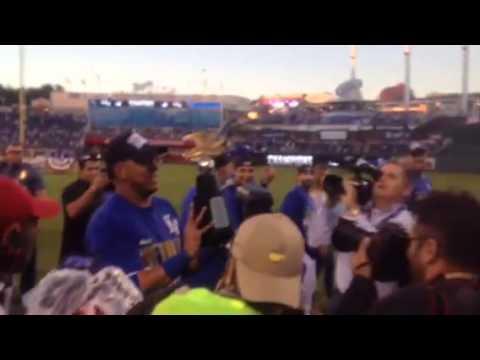 Royals Celebrate American League Championship