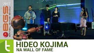 BGS 2017: Hideo Kojima é eternizado na Wall of Fame | TudoCelular.com