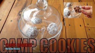 Chocolate Camp Cookies Gluten Free No Bake Raw Food Recipe Cheekyricho