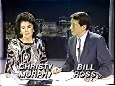 WDEF Chattanooga 6 pm newscast open from 1988