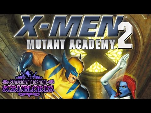 Saturday Morning Scrublords - X-Men Mutant Academy 2
