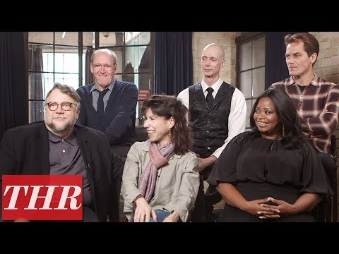 Guillermo del Toro, Octavia Spencer, Sally Hawkins, Michael Shannon 'The Shape of Water'  TIFF 2017
