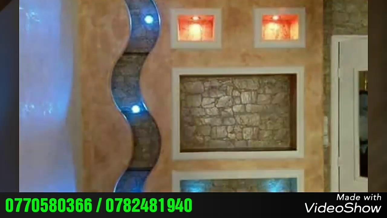 Décoration Meubles Tv En Placo Plâtre Ba13 Placo Plâtre