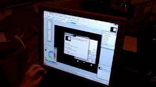 Etch a Sketch controlled Computer
