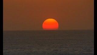 sun rise in kanyakumari